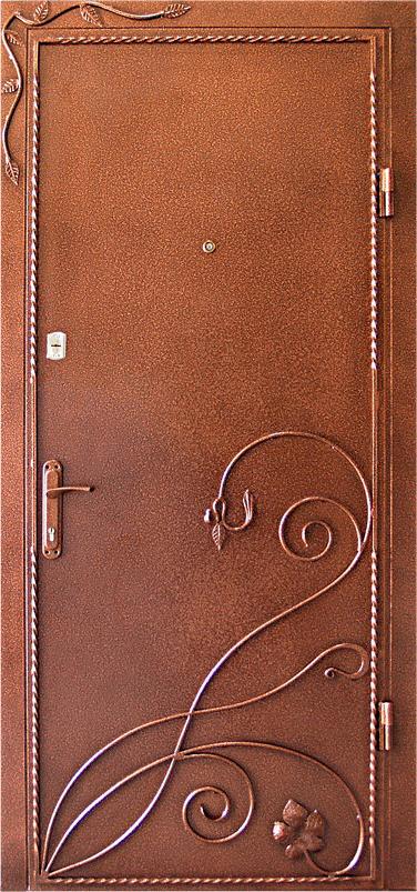 декор металлической двери фото была днем скорби